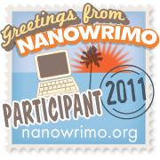 NaNoWriMo Participant's badge