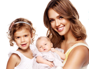 Jessica Alba and daughters Honor and Haven