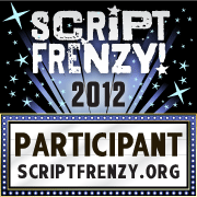Script Frenzy Participant badge