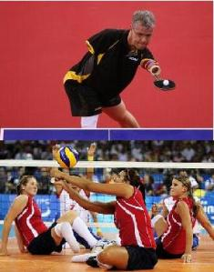 Table Tennis and Sitting Volleyball