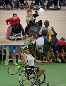 Wheelchair Rugby and Tennis